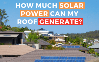 How Much Solar Power Can My Roof Generate?